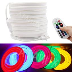 110V 2835 LED Flex Neon Rope Light Room Party Outdoor Sign T