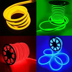 110V LED Flex Neon Rope Light Party Bar Garden Home Holiday