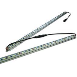 12v Commercial White LED Tube Neon Rope Strip Light Decor Si