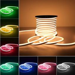 12V Flexible LED Strip Light Waterproof Sign Neon Lights Sil
