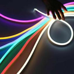 12V 2835 Flexible LED Strip Waterproof Sign Neon Lights Sili