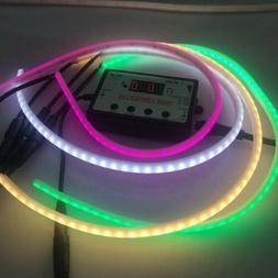 12V SMD 2835 Flexible LED Strip Waterproof Neon Ribbon Light