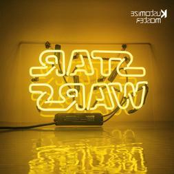 "14""x9""STAR WARS Neon Sign Light Party Nightlight Man Cave Wa"