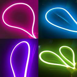 150ft 110V LED Neon Flex Rope Lights for Home KTV Party Shop
