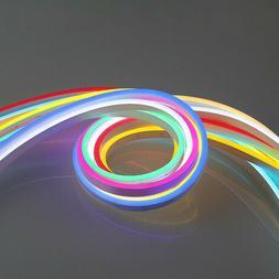 16 ft 110V Waterproof LED flex neon rope light Party Decor H