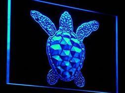 "16""x12"" j125-b Sea Turtle Animals Display NEW Neon Sign"