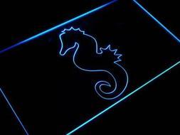 "16""x12"" j421-b SEAHORSE Ocean Animals Home Gift Neon Sign"