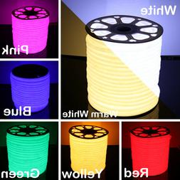 15m 360° Round LED Neon Rope Light Party DIY Project AD Sig