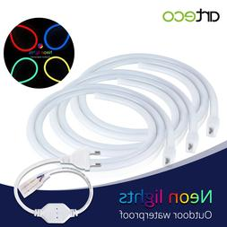 220V LED <font><b>Neon</b></font> Light Waterproof Diode Tap