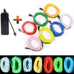 3V Battery 1m/3m/5M Flexible <font><b>Neon</b></font> Light