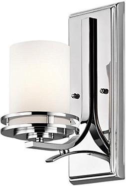 Kichler 5076 Chrome 1 Light Wall Sconce from the Hendrik Col