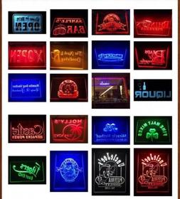 7 Colors & 2 Sizes Custom Signs LED Signs Neon Signs Edge Li