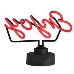Amalfi 33cm Neon Light Art Sign Enjoy Handmade Novelty Lamp