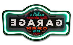 Big Daddy's Garage LED Neon Lighted Marquee Sign For Bar, Ga