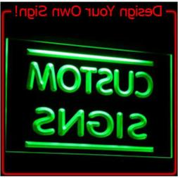 Custom Neon LED Light Signs Design your own for Home or Busi