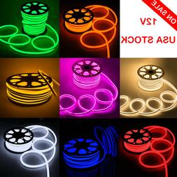 DC12V Neon LED Rope Light Waterproof Flex Strip Commercial B