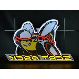 Dodge Scat Pack Neon Sign With Backing 5SCATB w/ FREE Shippi
