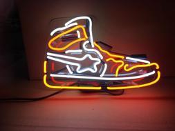 Handmade Sneakers Nike Air Jordan Sport Shoe Display Real Gl
