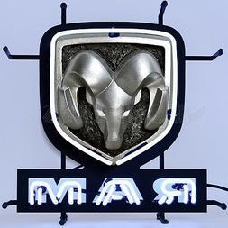 Neon Sign Ram Dodge 1500 2500 3500 Heavy Duty Pickup Truck 2