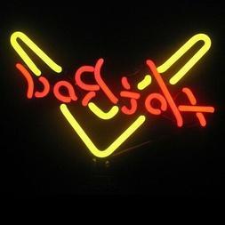 Hot Rod Garage neon sculpture sign Table shelf lamp hand blo
