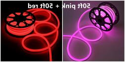 LED Flex Neon Rope Light Waterproof Neon Tube Strip Commerci
