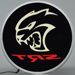 LED sign Dodge Hellcat Charger Challenger 2015 2016 Opti neo