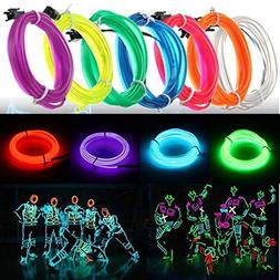 Lights & Lighting - 3m Led ble El Wire Neon Glow Light Rope