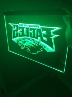 NFL Philadelphia Eagles LED Neon Sign for Game Room,Office,B