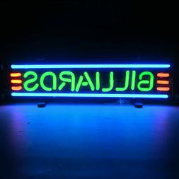 Neon Sign Billiards Pool table lamp wall light Game room cue