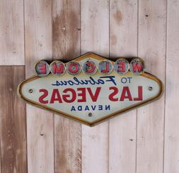 Neon Sign painting Las Vegas-style wall decoration LED metal