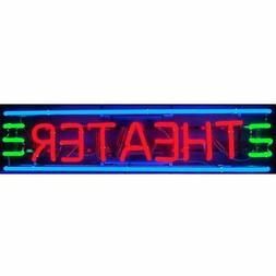 Neon sign Theater Home theatre Art Deco lamp on metal grid g