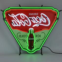 Neon sign wholesale lot of 4 Tiki Bar Coca Cola Coke Mancave
