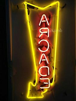 "New Arcade Arrow Game Room Lamp Light Neon Sign 24""x20"""