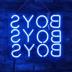 New Boys Boys Boys Logo Acrylic Lamp Bar Artwork Neon Light