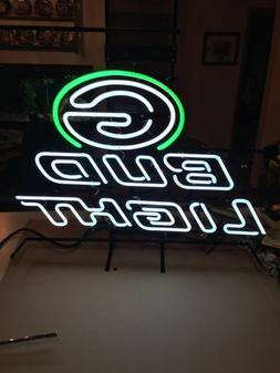 """New Bud Light Green Bay Packers Neon Sign 32""""x24"""""""
