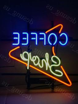 "New Coffee Shop Cafe Espresso Neon Sign 17""x14"" Ship From US"