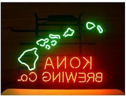 "New Kona Brewing Company Hawaii Neon Light Sign 17""x14"""