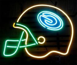 "New NFL GREEN BAY PACKERS Helmet Neon Light Sign 20""x16"""
