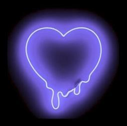 New Purple Love Make My Heart Melt Acrylic Neon Light Sign 1