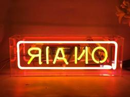 On Air Neon Sign Light Acrylic Box Studio Home Room Desk Lam