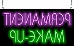 Permanent Makeup Neon Sign | Jantec | 2 Sizes | Tattoo | Pie