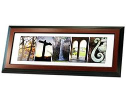 Personalized Framed Name with Themed Alphabet Photography -