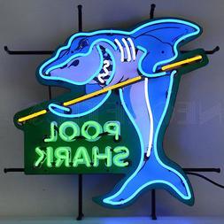 Pool Shark Neon Sign Pool Table light Billiards wall lamp Hu