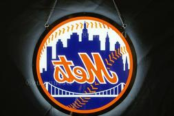 """Rare New New York Mets LED 3D Neon Sign 20"""""""