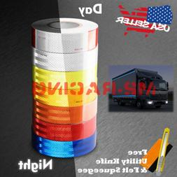 Reflective Conspicuity Tape 2in x 150FT DOT-C2 Safety Warnin