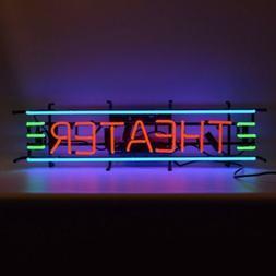 "Theather Movie Art Neon Sign 35""x9"""