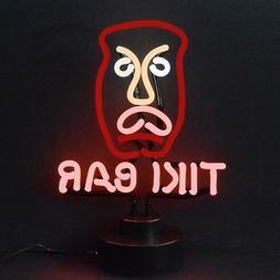Tiki Bar head neon sculpture Idol Margaritaville open sign l