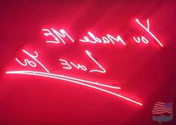 "You Made Me Love You Red Art Neon Sign 20""x16"" From USA"
