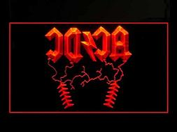 ACDC AC/DC Rock n Roll Bar Led Light Sign