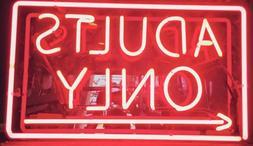 Adults Only Video Game Room Arrow Live Nudes Bar Pub Neon Li